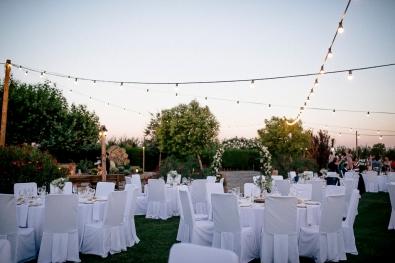 Banquete mesas clásicas